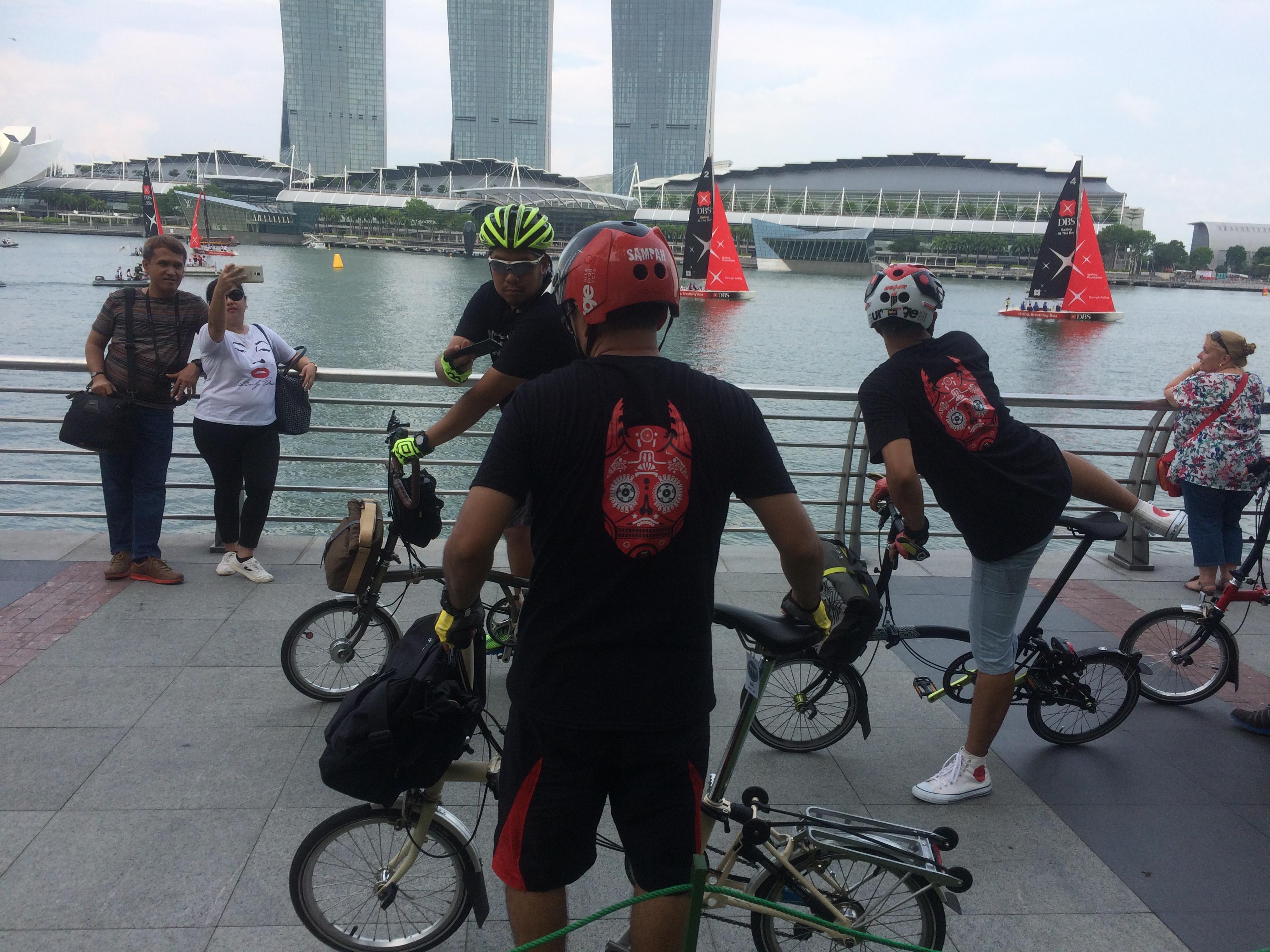Singapore Brompton cycle tour 2017