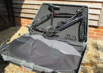 Burwash Bike Box Hire DHB
