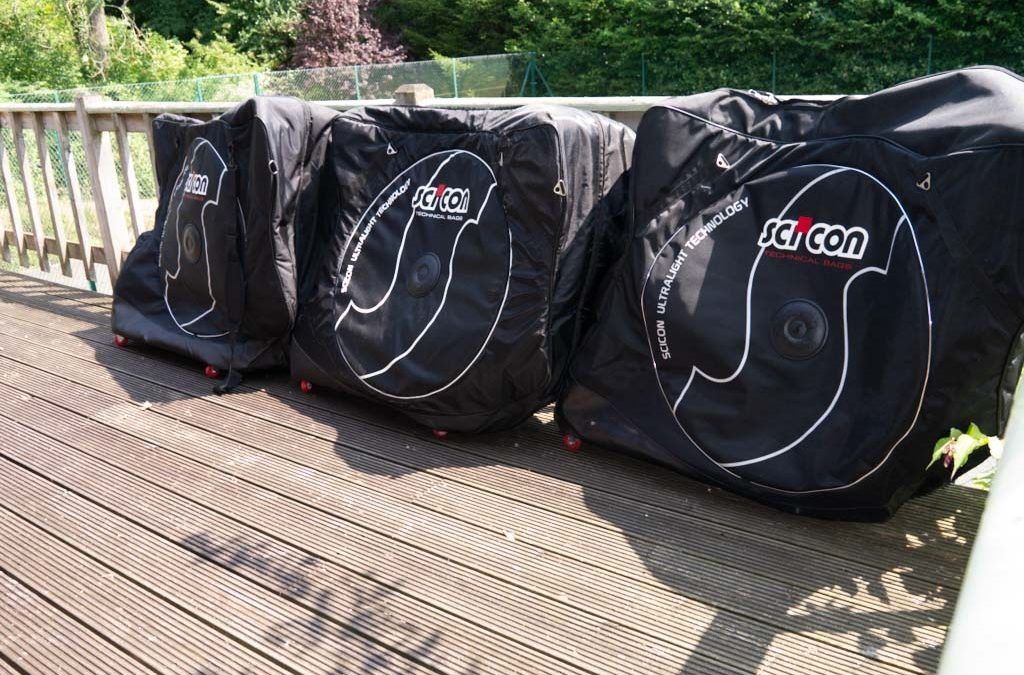 Updated bikes for the Scicon, Trico, DHB bike travel cases
